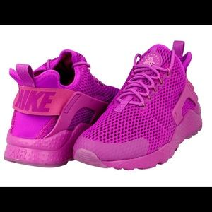 Nike huarache run purple